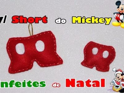 Diy. enfeite de Natal.shot do mickey