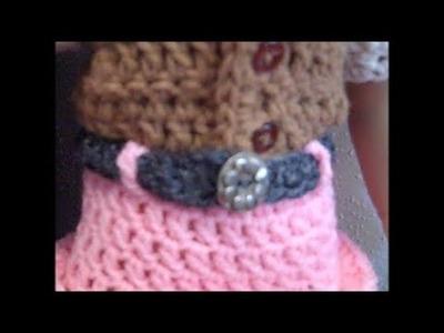 Dollie Cowgirl Partner - Part 4: Cowgirl Belt - Red Heart Yarn Pattern