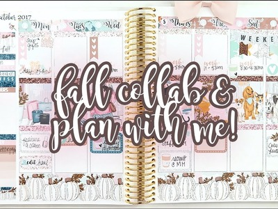 Fall Tag Collab Plan with Me! ft. The Planner Sophisticate and Viv Lovestoplan