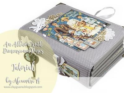 G45 Penny's Paper Doll Family Album + Tutorial