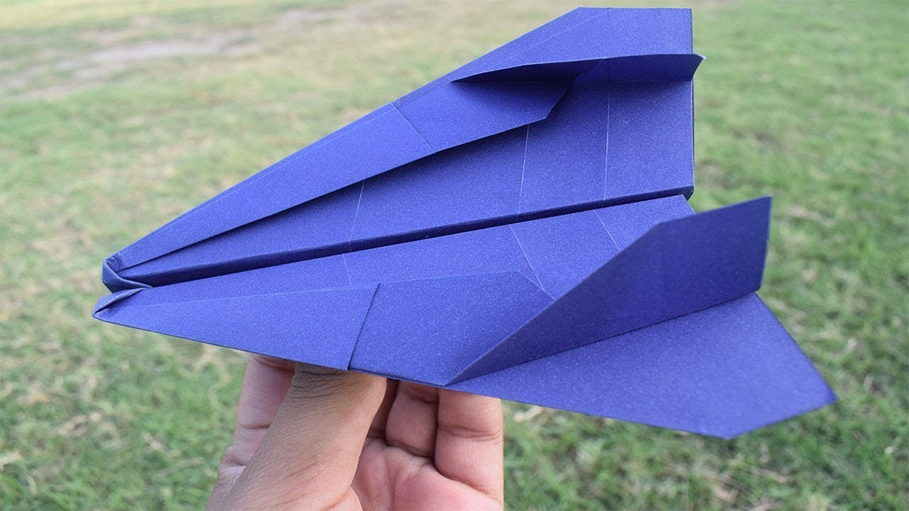 How to build best paper airplane glider - best paper