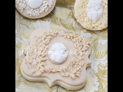 How to Create Bas Relief Sculpture Cookies and Cakes