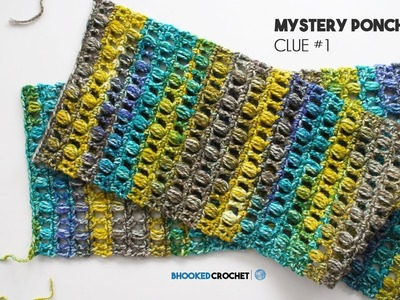 How to Crochet a Poncho: Mystery CAL Clue One Left Hand