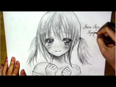 How to Draw Anime Girl - Slow Version