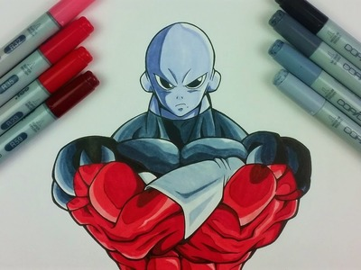 How to Draw JIREN THE GRAY - Universe 11 Strongest Warrior | Tutorial by TolgArt