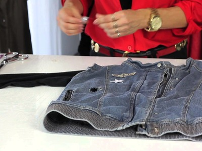 How to Embellish a Jean Jacket : Style Savvy