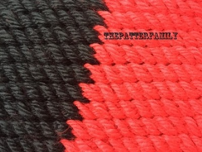 How to Knit a Diagonal Stitch Pattern #140│by ThePatternfamily