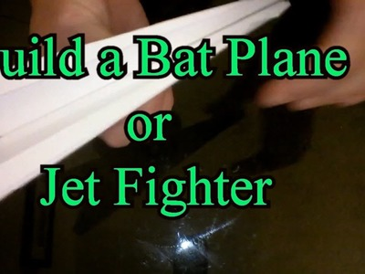 HOW TO MAKE A BAT PLANE, JET FIGHTER PAPER AIR PLANE EASY