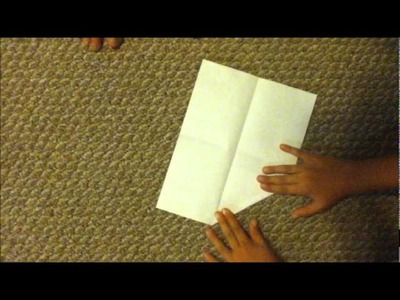 How to make a paper airplane (jet) Star Fox