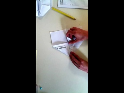 How to make a paper airplane that comes back to you (the best one)