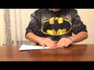 How to make a paper airplane that glides for a long time 2015-2016!!