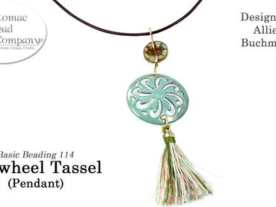 How to make a Pinwheel Tassel Pendant