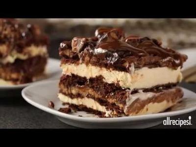 How to Make Ice Cream Lasagna | Dessert Recipes | AllRecipes