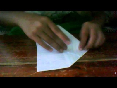 How to make paper airplane that comes back to you. .