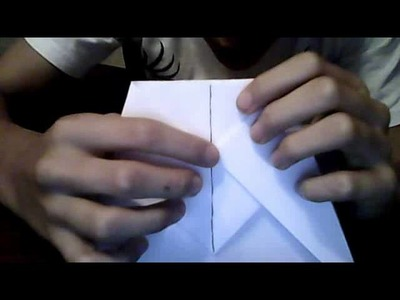 How to make the worlds farthest flying paper airplane.glider