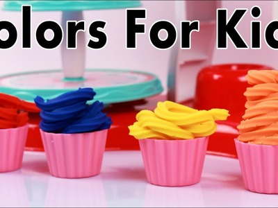 Learn Colors For Kids With Play Doh | Play Doh For Kids | Colors For Children | Kindergarten Kids TV