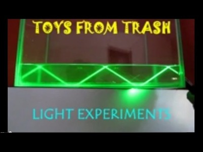 LIGHT EXPERIMENTS - HINDI - See visually what lenses & mirrors do with rays!
