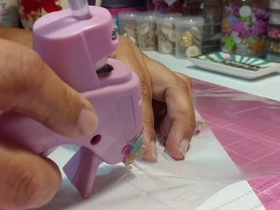 Make a Shaker W. Hot Glue Gun