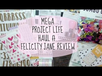 MEGA Project Life & Scrapbooking Haul. Studio Calico, Scrapbook.com, Felicity Jane
