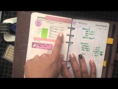 My Filofax for Finances