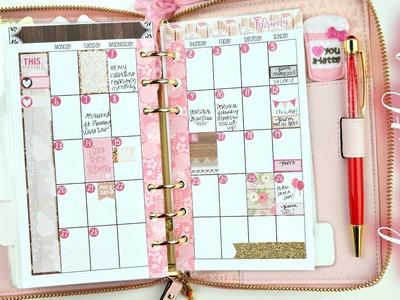 Personal February Monthly + Valentine's Decor Walkthrough!
