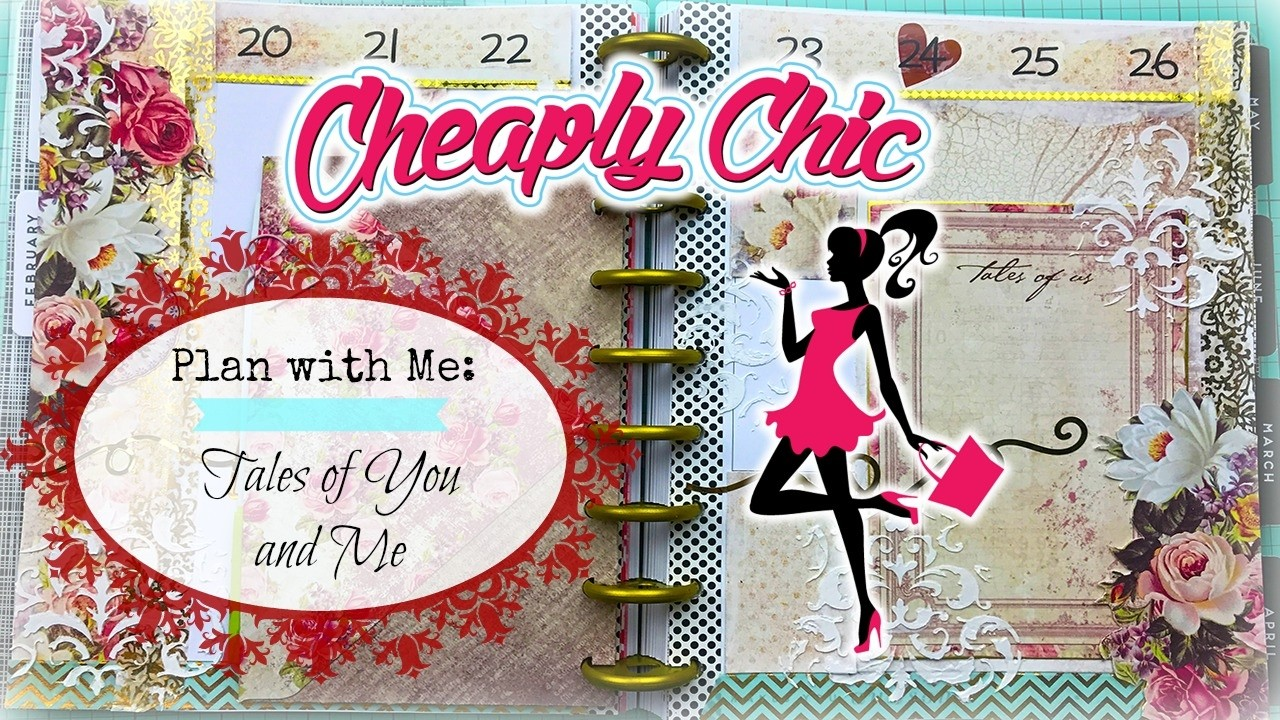 Plan with Me: Feb. 20th - 26th Prima Tales of You and Me - Mixed Media