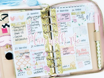 Plan with Me ft. Little Miss Paperie! Sew Much Crafting Personal Inserts