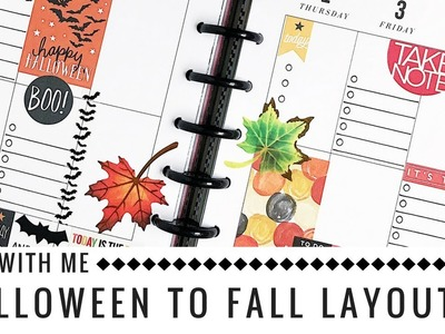 Plan with Me: Halloween to Fall | by Rochelle