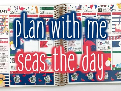 Plan With Me ♡ Seas the Day (Scribble Prints Co.)