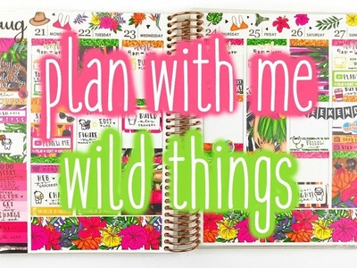 Plan With Me ♡ Wild Things (Scribble Prints Co.)