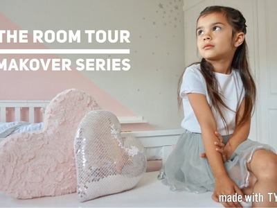 ROOM TOUR | GIRLS BEDROOM | MAKEOVER SERIES | CARLY JADE DRAKE