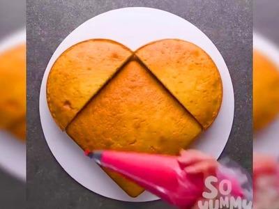 Simple Sheet Cake Decorating Hacks! Most Satisfying Cake Ideas 2017