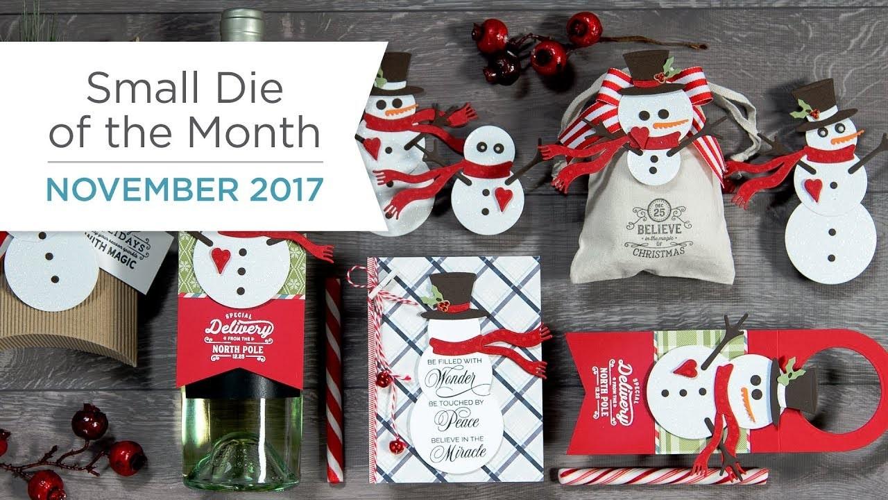 Spellbinders November 2017 Small Die Of The Month