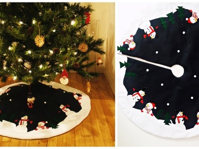 TREE SKIRT DIY - HOW TO SEW A TREE SKIRT - Sewing - Learn to Sew- Sewing Project