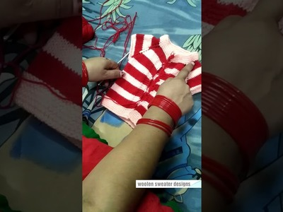 Woolen sweater designs | woolen sweater making for baby or kids in hindi | kids sweater designs