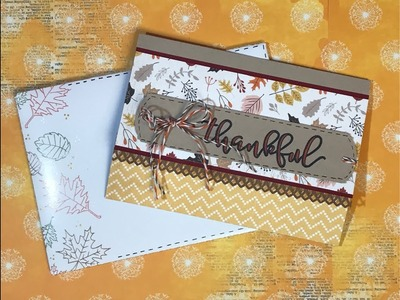 """World Card Making Day Hop Theme """"Grateful, Thankful and Blessed"""""""
