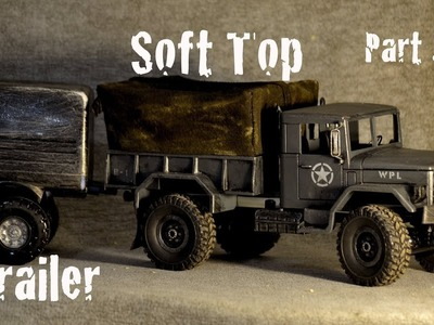WPL B-1 almost EPIC rc Military truck modification  (Part 2.2)