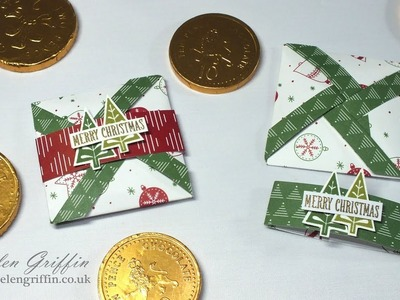 11th Day of Christmas | Stampin'Up!  Mini Pinwheel Pouches.Cards