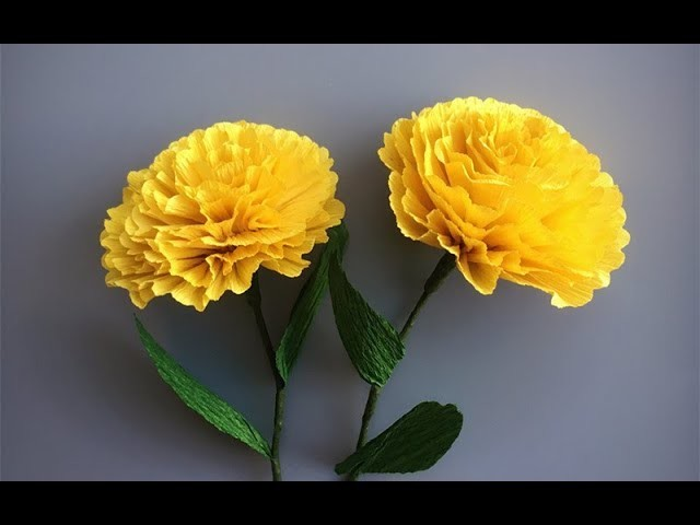 Abc Tv How To Make Paper Flower From Crepe Paper 2 Easy Craft