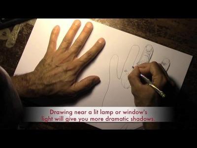 Art Lesson #4:  Contour Line Drawing