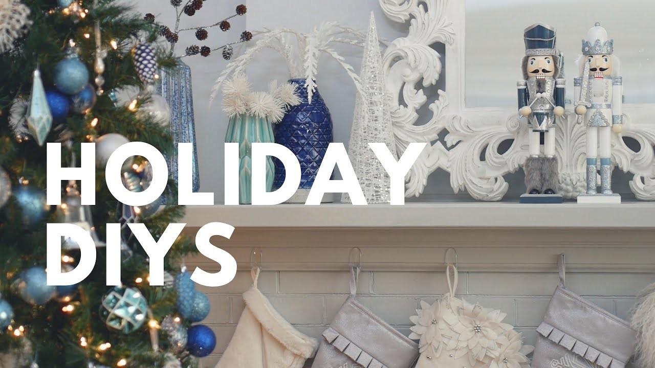 big impact low budget holiday diys winning the holidays