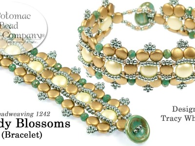 Candy Blossoms Bracelet Tutorial