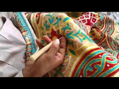 Carpetism - The making of our Kashmir crewel rugs