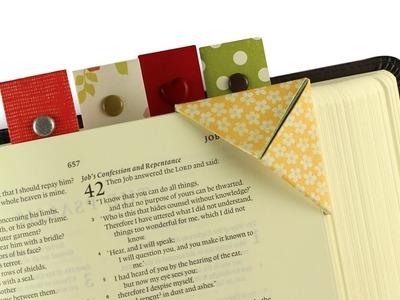 Christmas Bible Craft 4: Two Styles of Bible Bookmarks