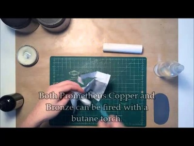 Conditioning Prometheus Copper and Bronze Clays