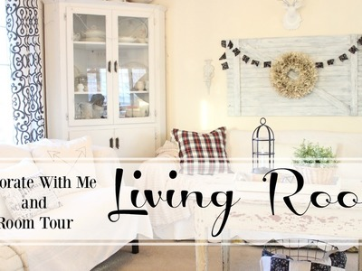 Decorate With Me and Room Tour   Living Room