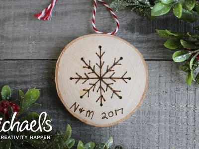 DIY Holiday Ornaments | Darby Smart | Michaels