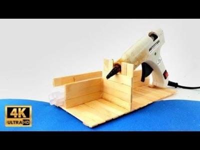 DIY Hot Glue Gun Stand : Only 1$