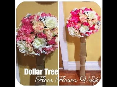 Dollar Tree   Floor Floral Vase
