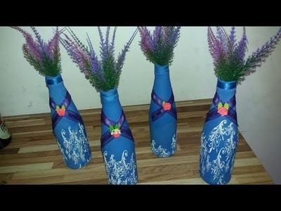 Garrafa Long Neck Decorativa ( Passo a Passo )
